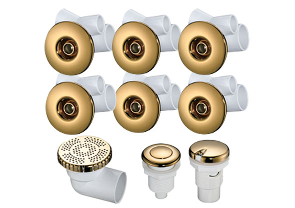 Whirlpool Jet Kit (GOLDEN)