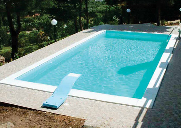 Fiber Panel Swimming Pool