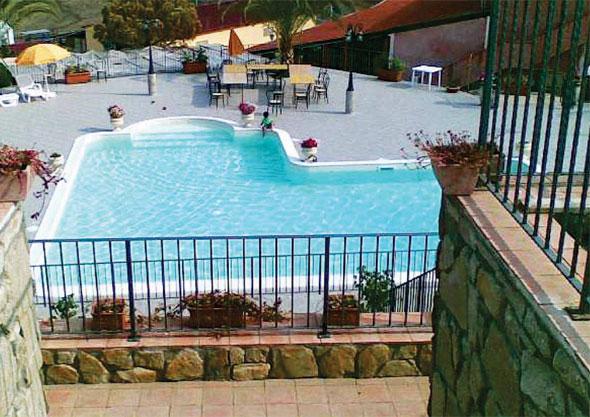fiber panel swimming pool